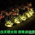 太陽能庭院草坪燈花園院子地插燈景觀裝飾燈戶外防水家用超亮 京都3C