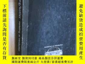 二手書博民逛書店marketing:an罕見introduction (Seventh Edition) 大16開Y5460