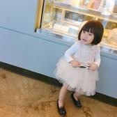 公主裙 女童連身裙新款秋裝小女寶寶洋氣裙子女孩公主裙蓬蓬紗 新品