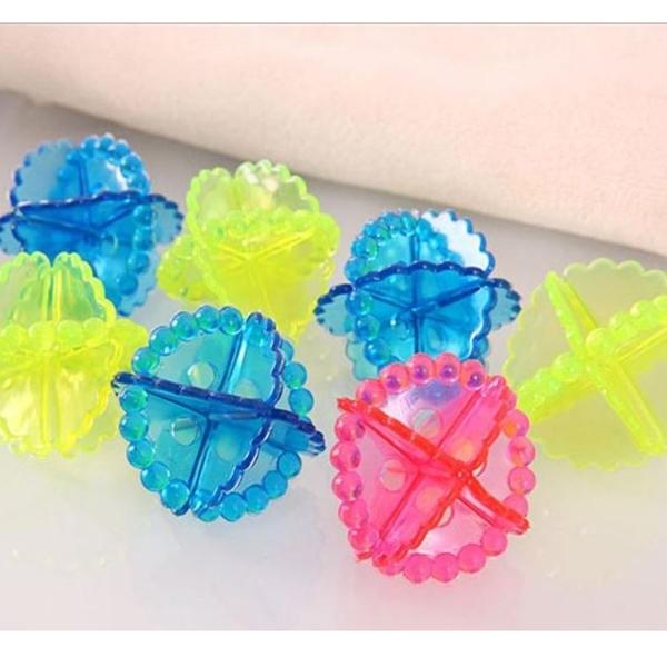 [拉拉百貨]高性能強力/洗護球洗衣球/洗衣機球/內衣防纏繞/清潔球/魔力去污球(10入,隨機出貨)