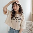 MIUSTAR 寬版BOSTON美式風格棉質短上衣(共2色)【NJ0628SX】預購