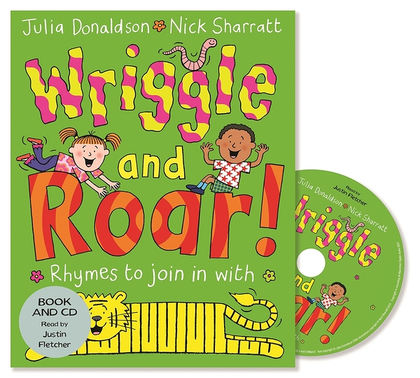 Wriggle And Roar 唱唱跳跳 平裝繪本CD書