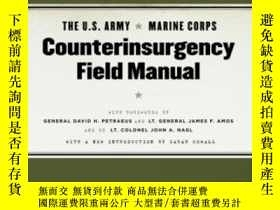 二手書博民逛書店The罕見U.s. Army marine Corps Counterinsurgency Field Manua