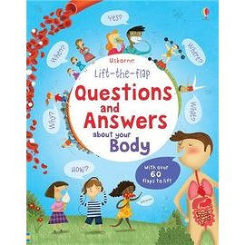 【麥克書店】LIFT-THE-FLAP QUESTIONS & ANSWERS ABOUT BODY