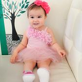 女寶寶包屁裙 甜美公主 包屁衣 爬服 哈衣 Augelute Baby 32141