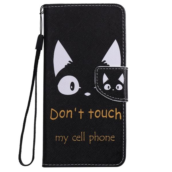 卡通小貓翻蓋卡位蘋果保護殼 iPhone 12皮套防摔保護套 iPhone 12 Pro Max潮流手機殼 IPhone 12 mini手機套