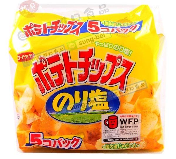 《松貝》湖池屋海苔洋芋片5袋入150g【4901335122244】bc64