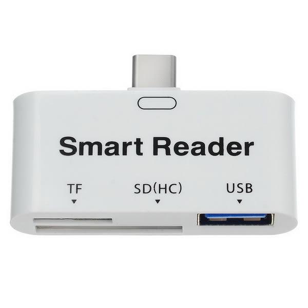 【世明國際】USB-CType-c3.1讀卡器 TF Micro SD轉Type-c讀卡器 OTG手機讀卡器