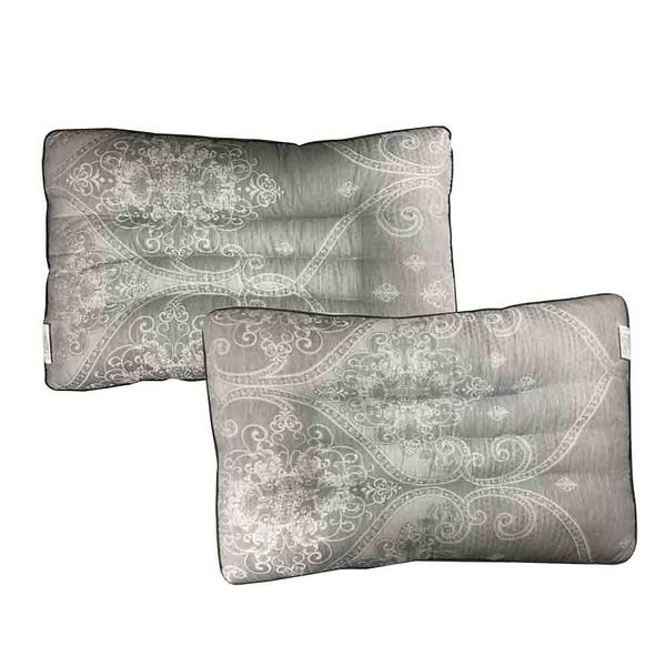 派樂 石墨烯珍珠棉/多功能護頸枕頭(1顆-花紋隨機出貨)石墨烯枕 枕頭 睡枕