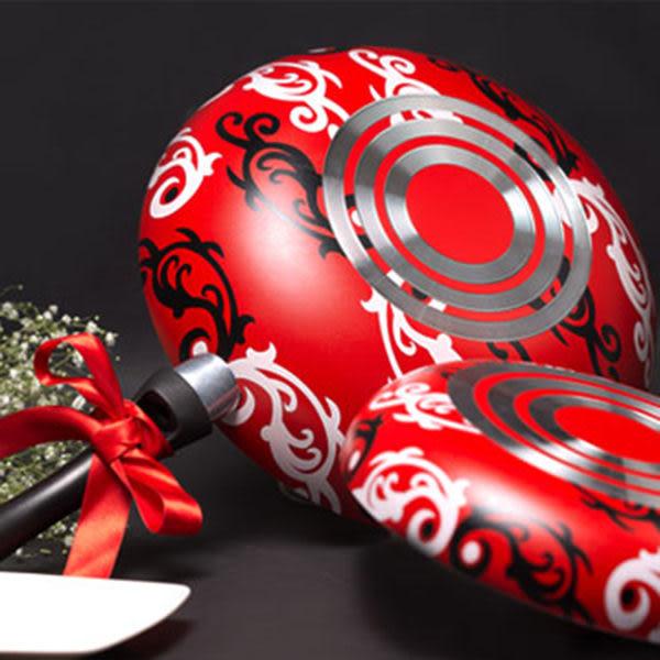 《派樂》COLOR COOK 晶鑽彩繪不沾鍋具組(雙鍋組)30cm不沾炒鍋 24cm平煎鍋 煎煮炒炸