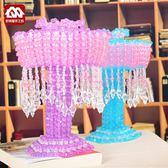 手工串珠臺燈材料包DIY歐式珠子編織家居臥室擺件工藝品散珠製作 英雄聯盟