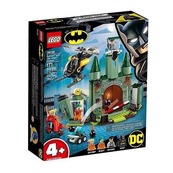 【南紡購物中心】【LEGO 樂高積木】超級英雄 Super Heroes 系列 -蝙蝠俠與逃跑 小丑(5)76138