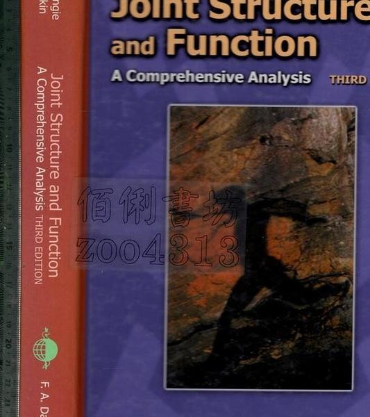 二手書R2YB《Joint Structure and Function 3e》