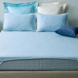 HOLA 超涼感平式保潔墊 淡藍色 特大