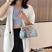 刺繡包 成品手工旗袍包包2020新款名媛民族風氣質手提包小復古刺繡漢服包 愛麗絲