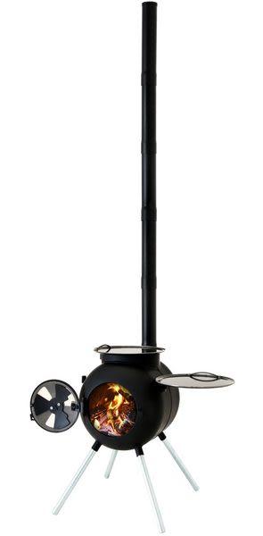【速捷戶外露營】澳洲OzPig 2015 改版萬用燒烤暖爐 ~室外廚房燒烤爐/取暖爐灶/壁爐/BBQ焚火台