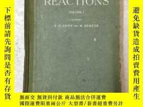 二手書博民逛書店nuclear罕見reactions 第一卷 原子核反應Y224