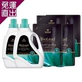 台塑生醫 BioLead經典香氛洗衣精 璀璨時光(2瓶+4包)【免運直出】