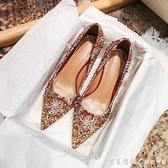 結婚鞋女細跟紅色高跟婚鞋紅秀禾新娘鞋2020年新款敬酒繡花中式【美眉新品】