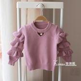 毛衣-女寶寶春秋裝1-2-3歲4女童毛衣套頭韓版上衣嬰兒童線衣針織打底衫 Korea時尚記