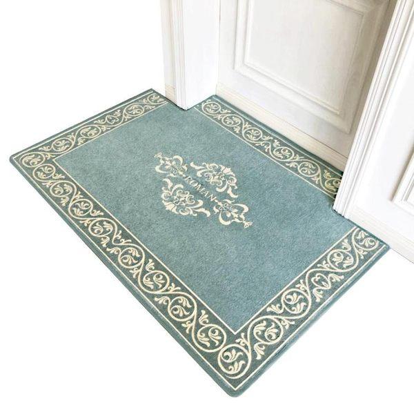 簡約家用地毯門墊進門地墊入戶門口客廳臥室門廳吸水防滑墊 萬客居