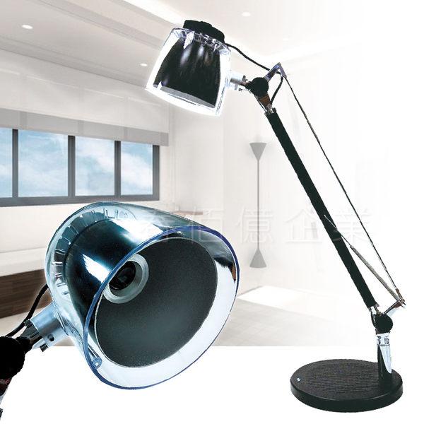魔特萊 時尚桌立式LED檯燈 (1入)台燈 閱讀燈 書桌燈 電腦燈 工作燈 床頭夜燈 防燙燈罩設計