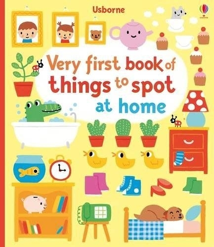 Very First Book Of Things To Spot At Home 第一本找找發現遊戲書:居家生活