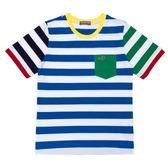 『小鱷魚童裝』亮眼撞色條紋T恤(10號~18號)359408