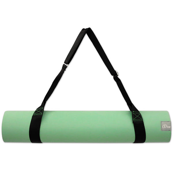 Taimat 天然橡膠瑜珈墊 183cm-流動系列 - 綠色