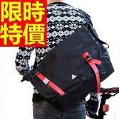 尼龍側背包-多用途可肩背萬用方便男女郵差包2色57b31[巴黎精品]