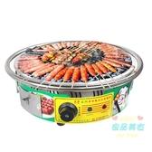 烤腸機 腸機阿里山石烤爐熱狗機石頭香腸烤爐台灣香腸機商用T