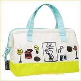 asdfkitty可愛家☆SNOOPY史努比休閒寬口拉鍊輕量保溫便當袋/手提袋/購物袋-也可保冷-日本正版商品