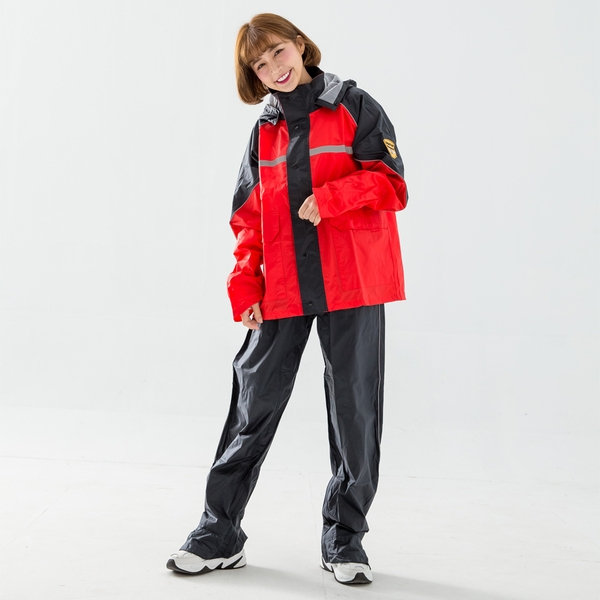 悍動兩件式風雨衣/3色 台灣製造 UPON雨衣