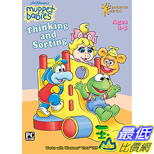 [106美國暢銷兒童軟體] Muppet Babies Thinking and Sorting Software