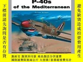二手書博民逛書店P-40s罕見Of The Mediterranean (damaged)-地中海P-40(受損)Y41495