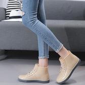 雨靴短筒防水防女韓國可愛時尚水鞋【雲木雜貨】