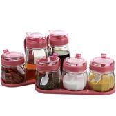 廚房用品 調料盒套裝家用調料罐zg