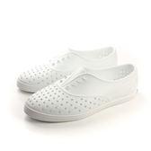 native JERICHO 防水 洞洞 舒適 透氣 輕量 好穿脫 戶外休閒鞋 白 女鞋 no657