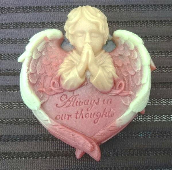 禱告天使藝術手工皂No.1
