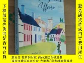 二手書博民逛書店THE罕見VILLAGE GREEN AFFAIR 英文原版 大