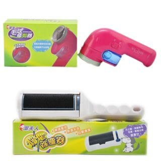 樂生活靜電除塵器+毛球修剪器