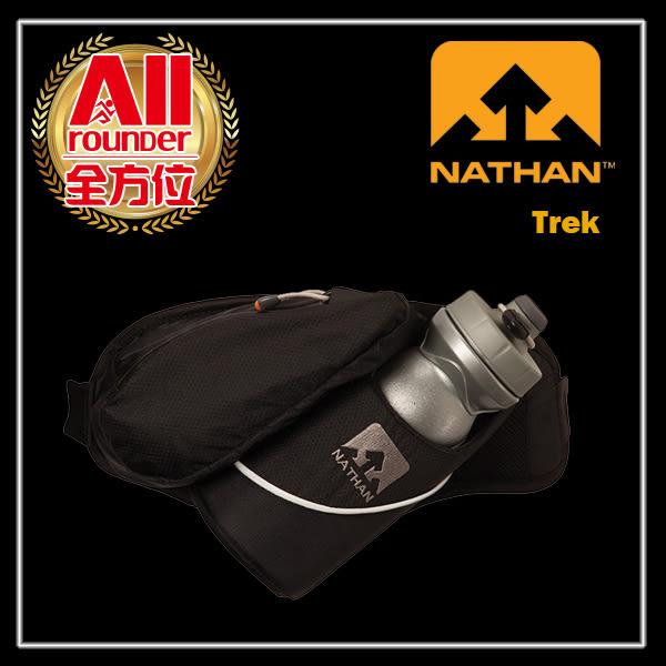 預購品【NATHAN】【全方位慢跑概念館】Trek(650ml) 水壺腰包 -黑色(4465NB)