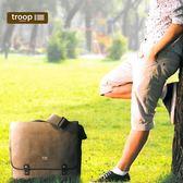 【TROOP】傳統簡約HERITAGE單肩包/TRP0378BN