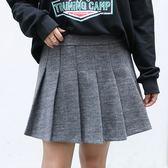 中大尺碼~ 學院風半身裙(XL~4XL)