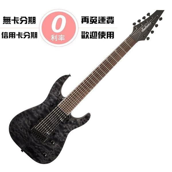 ☆唐尼樂器︵☆零卡分期免運 JACKSON ARCH TOP JS32-8Q DKA HT 八弦 電吉他
