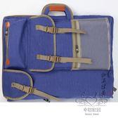 畫板包 旅風休閒帆布畫包4k多功能畫板包美術戶外畫袋【幸福家居】