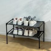 鞋架 學生宿舍簡易鞋架單人雙層床底收納防塵鞋柜書桌底簡約組裝鞋架子【快速出貨八折搶購】