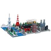 《 Nano Block 迷你積木 》【世界主題建築系列】NB-040 東京 / JOYBUS玩具百貨