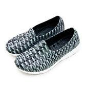 LIKA夢 PONY 防水透氣GOGO洞洞休閒走路鞋 Tropic D 系列 灰黑格 82U1SA67BK 女