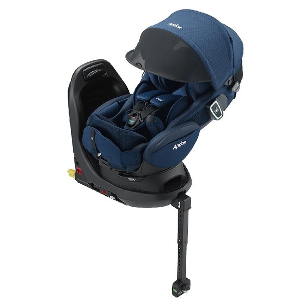 【愛吾兒】Aprica Fladea grow ISOFIX All-around Safety Premium平躺型安全座椅/汽座-沁星河